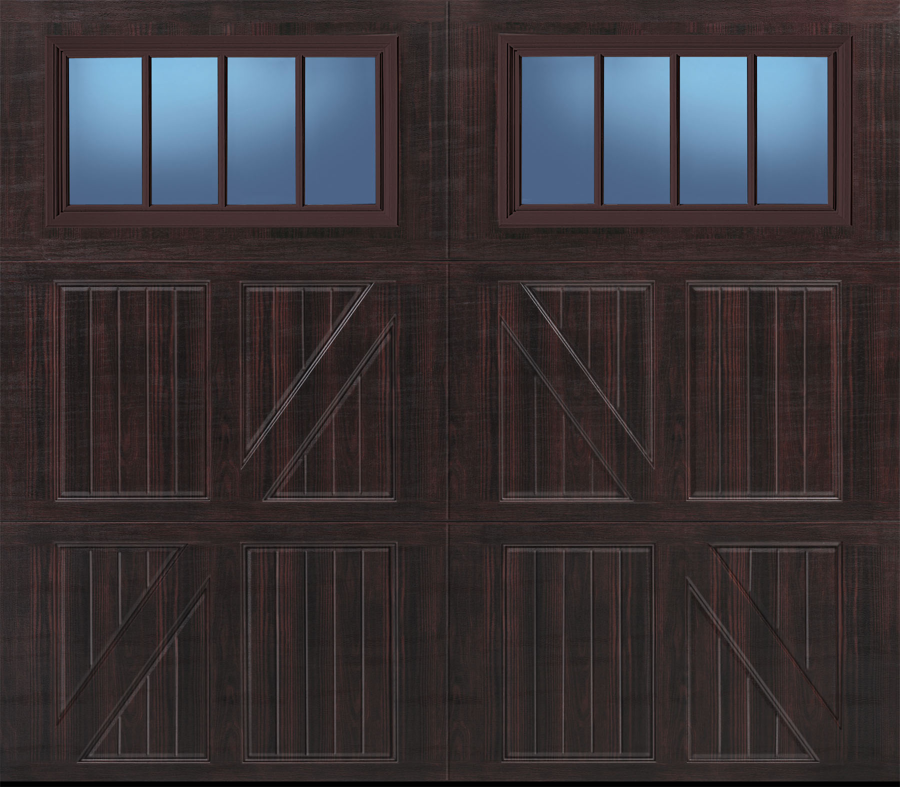 1575 #2E709D Amarr Carriage House Garage Doors Superior Garage Doors Of Atlanta save image Amarr Commercial Doors 36671800